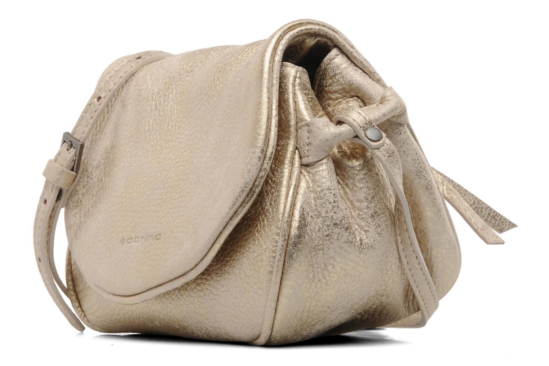 Sacs à main Sabrina Alice Or et bronze vue portées chaussures