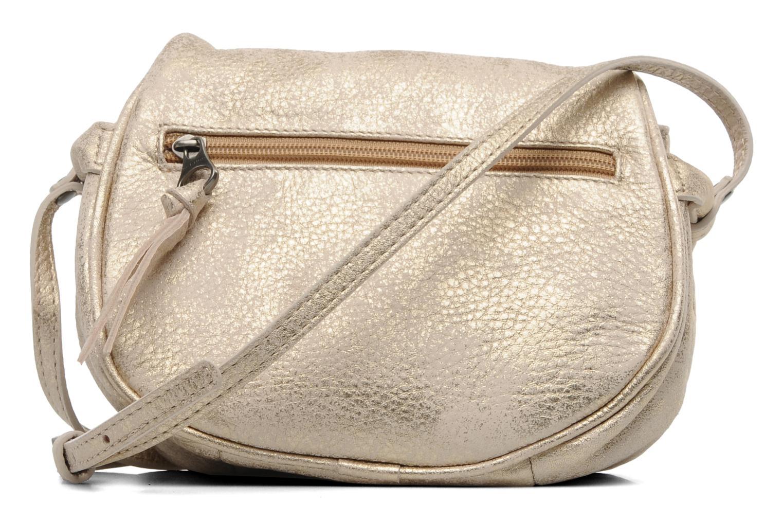 Handbags Sabrina Alice Bronze and Gold front view