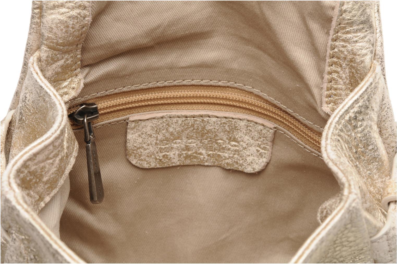 Handtassen Sabrina Alice Goud en brons achterkant