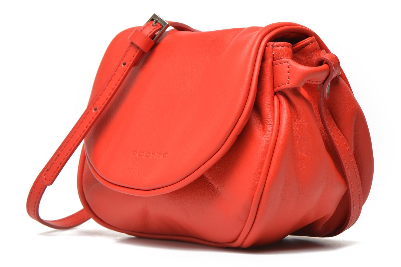 Bolsos de mano Sabrina Alice Rojo vista del modelo