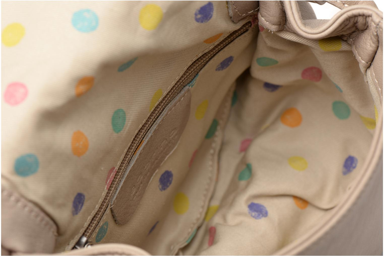 Håndtasker Sabrina Alice Beige se bagfra