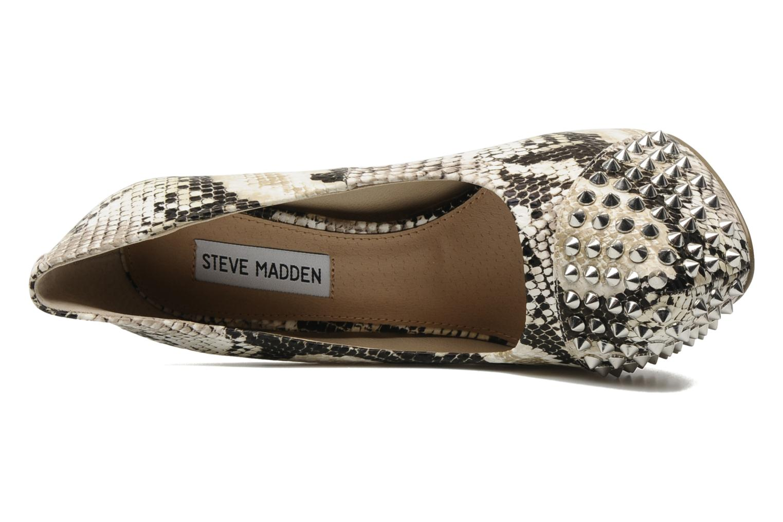 High heels Steve Madden BOLDDD Beige view from the left