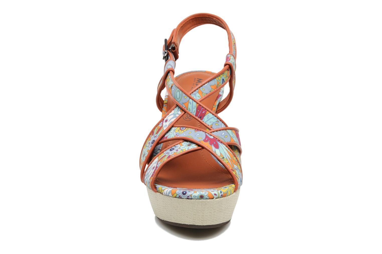 Sandales et nu-pieds MARC MINOUCHA Multicolore vue portées chaussures