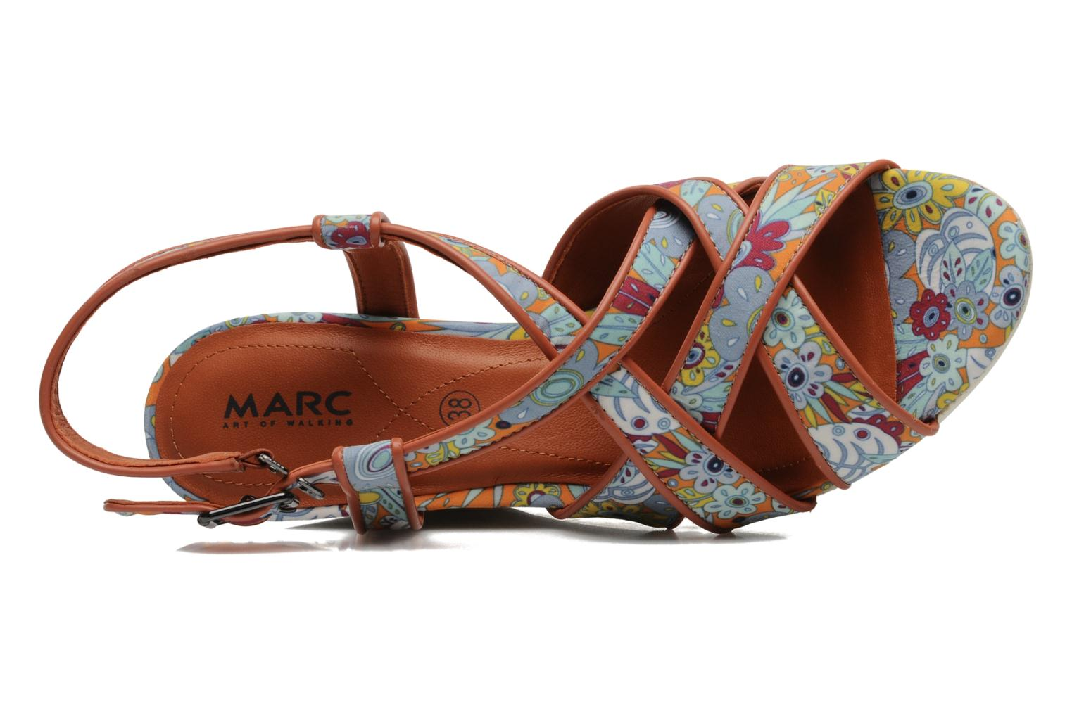 Sandals MARC MINOUCHA Multicolor view from the left
