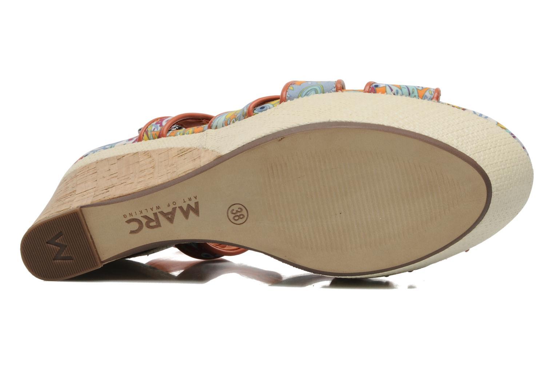Sandales et nu-pieds MARC MINOUCHA Multicolore vue haut