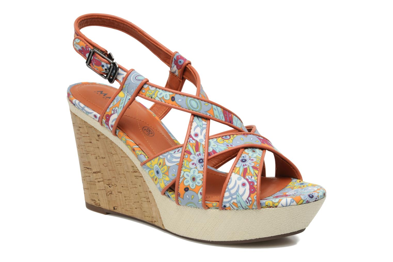 Sandales et nu-pieds MARC MINOUCHA Multicolore vue détail/paire