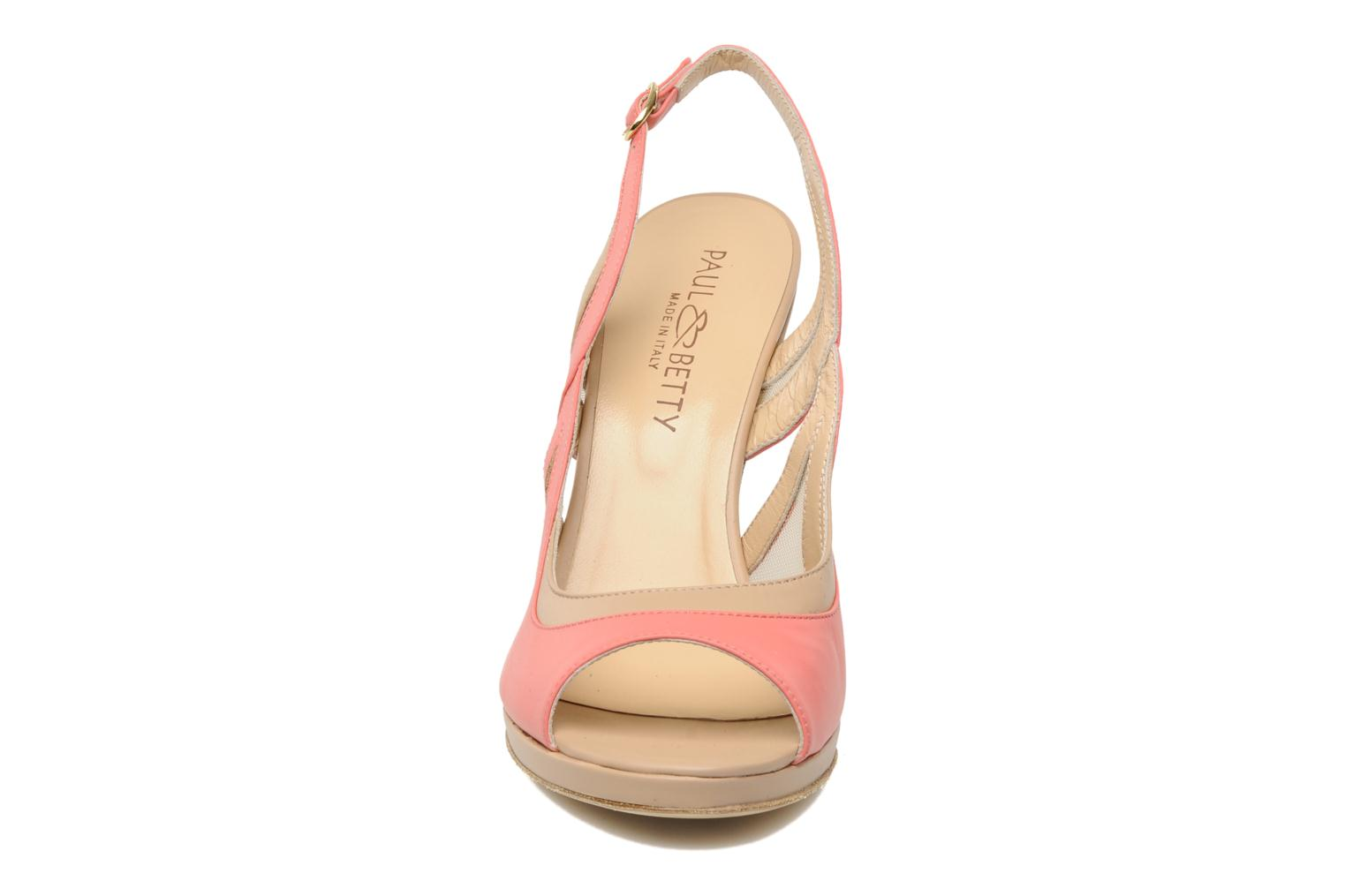 Sandals Paul & Betty MARCOS Pink model view
