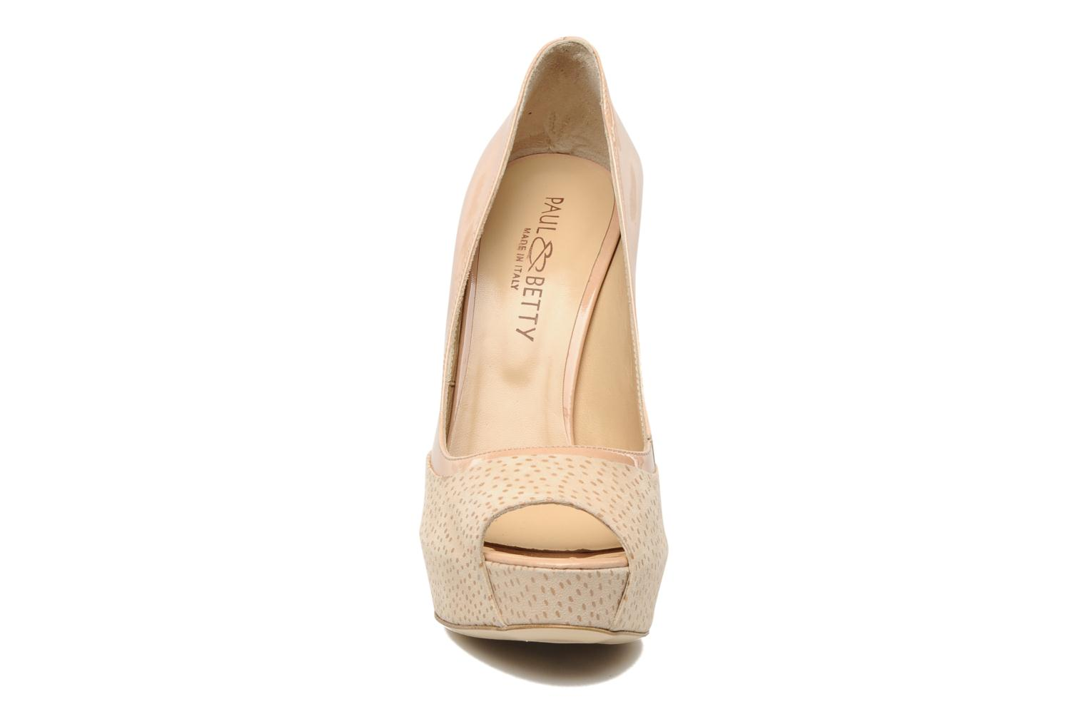 Pumps Paul & Betty DOUDINA rosa schuhe getragen