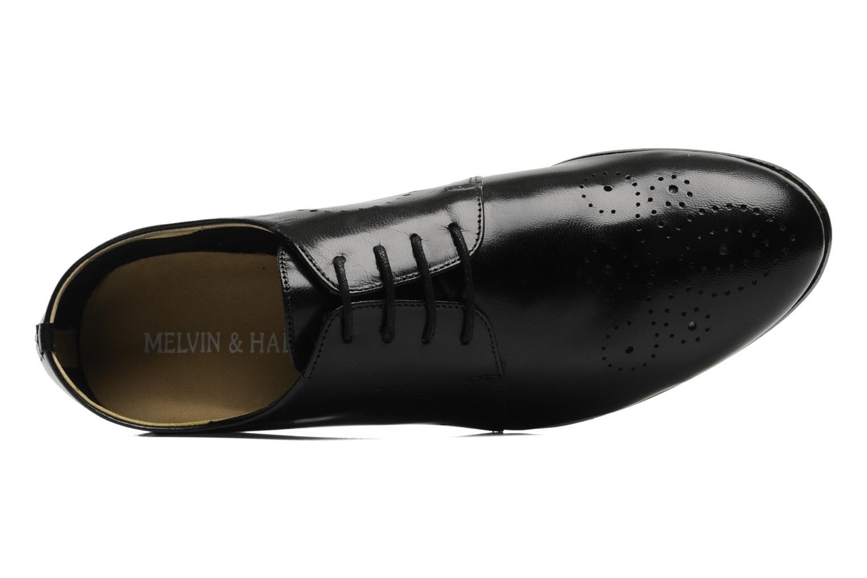 Zapatos con cordones Melvin & Hamilton Sally 1 Negro vista lateral izquierda