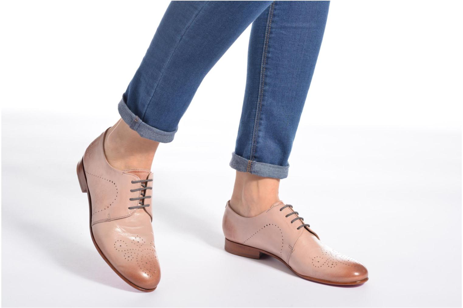 Lace-up shoes Melvin & Hamilton Sally 1 Brown view from underneath / model view
