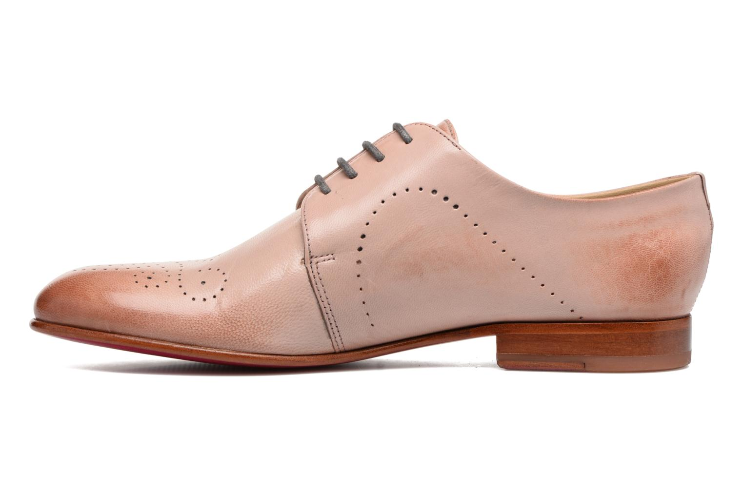 Lace-up shoes Melvin & Hamilton Sally 1 Brown front view