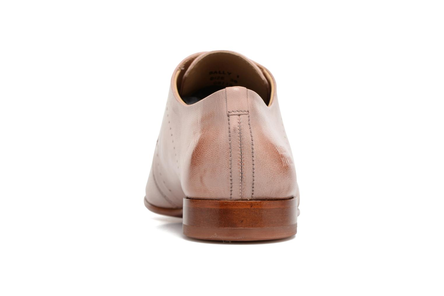 Lace-up shoes Melvin & Hamilton Sally 1 Brown view from the right