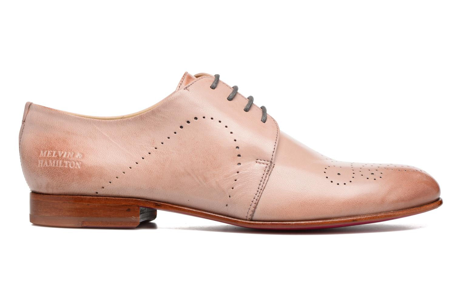 Lace-up shoes Melvin & Hamilton Sally 1 Brown back view
