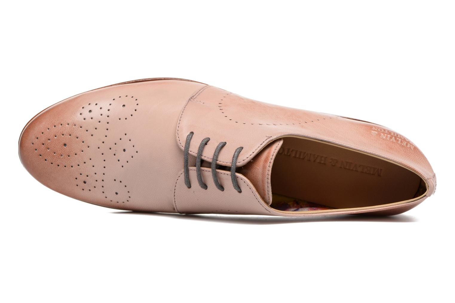 Lace-up shoes Melvin & Hamilton Sally 1 Brown view from the left