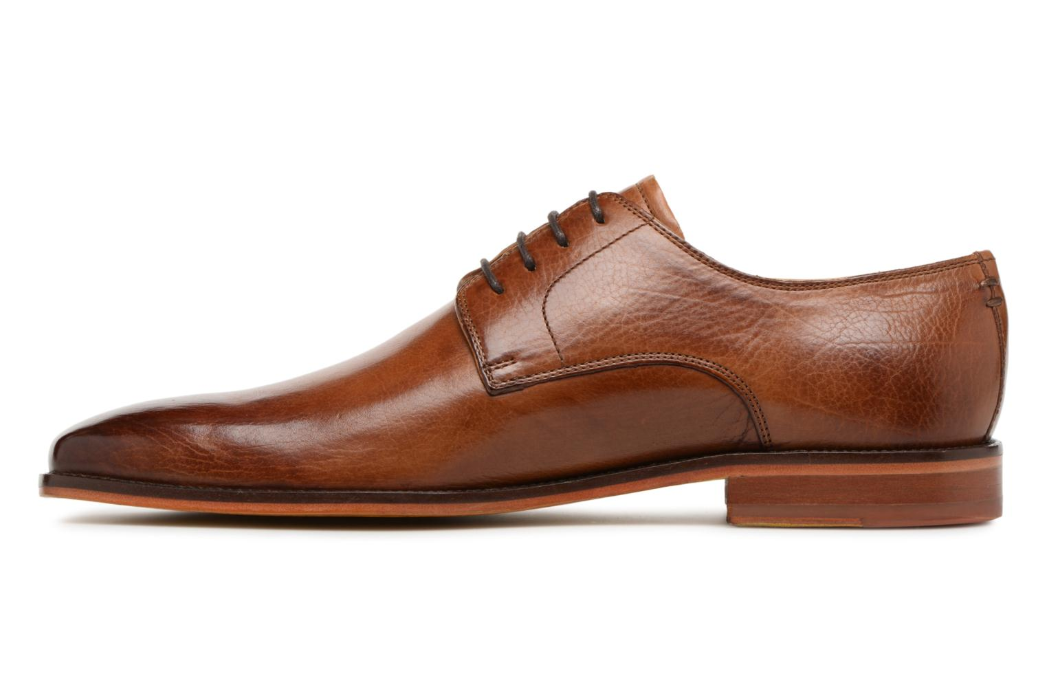 Lace-up shoes Melvin & Hamilton Alex 1 Brown front view