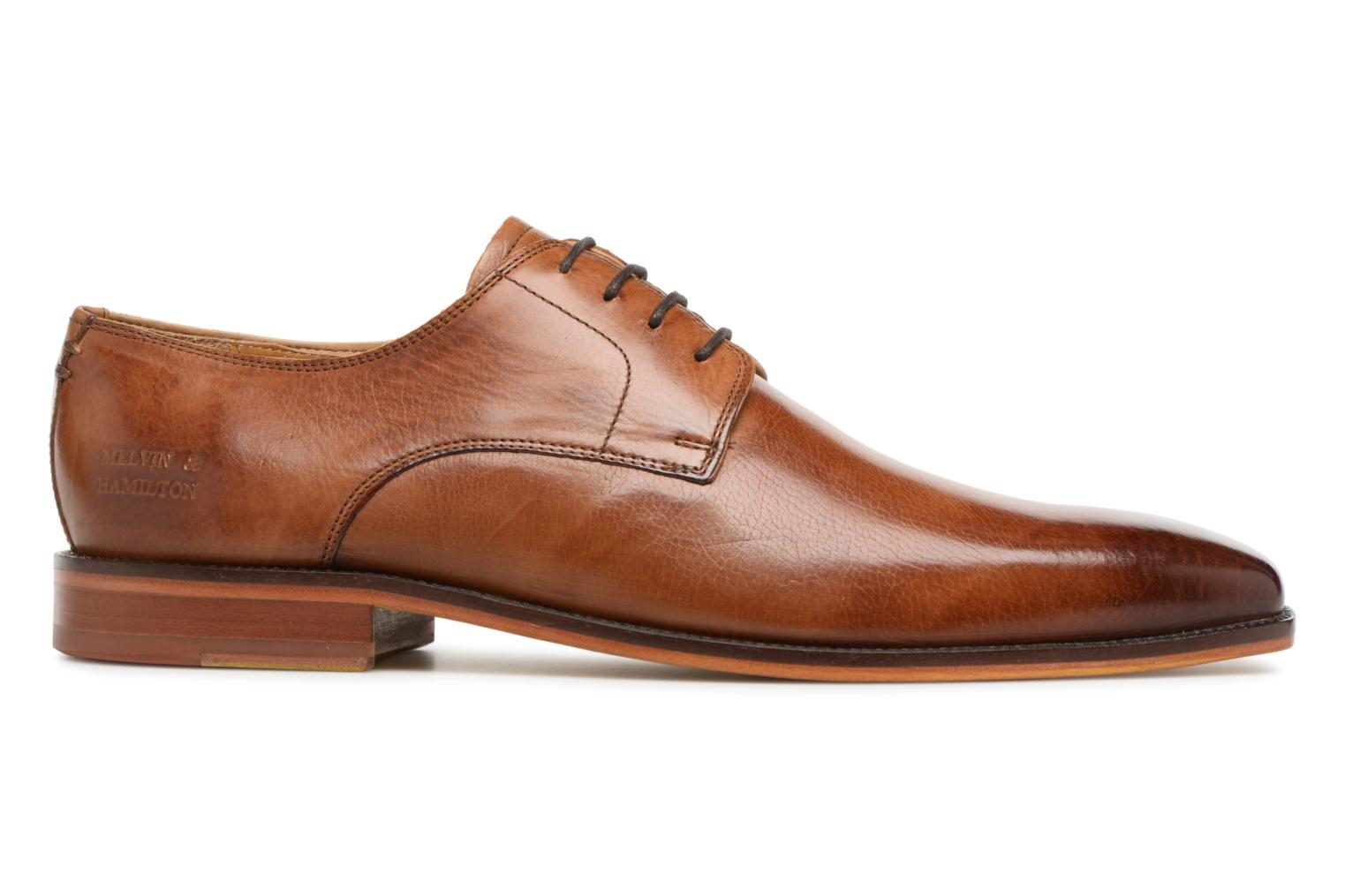 Lace-up shoes Melvin & Hamilton Alex 1 Brown back view