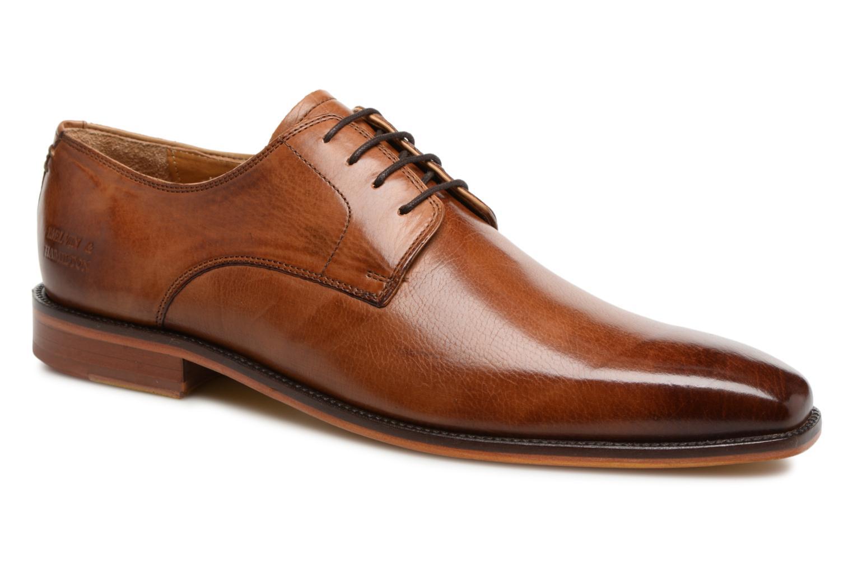 Snøresko Melvin & Hamilton Alex 1 Brun detaljeret billede af skoene