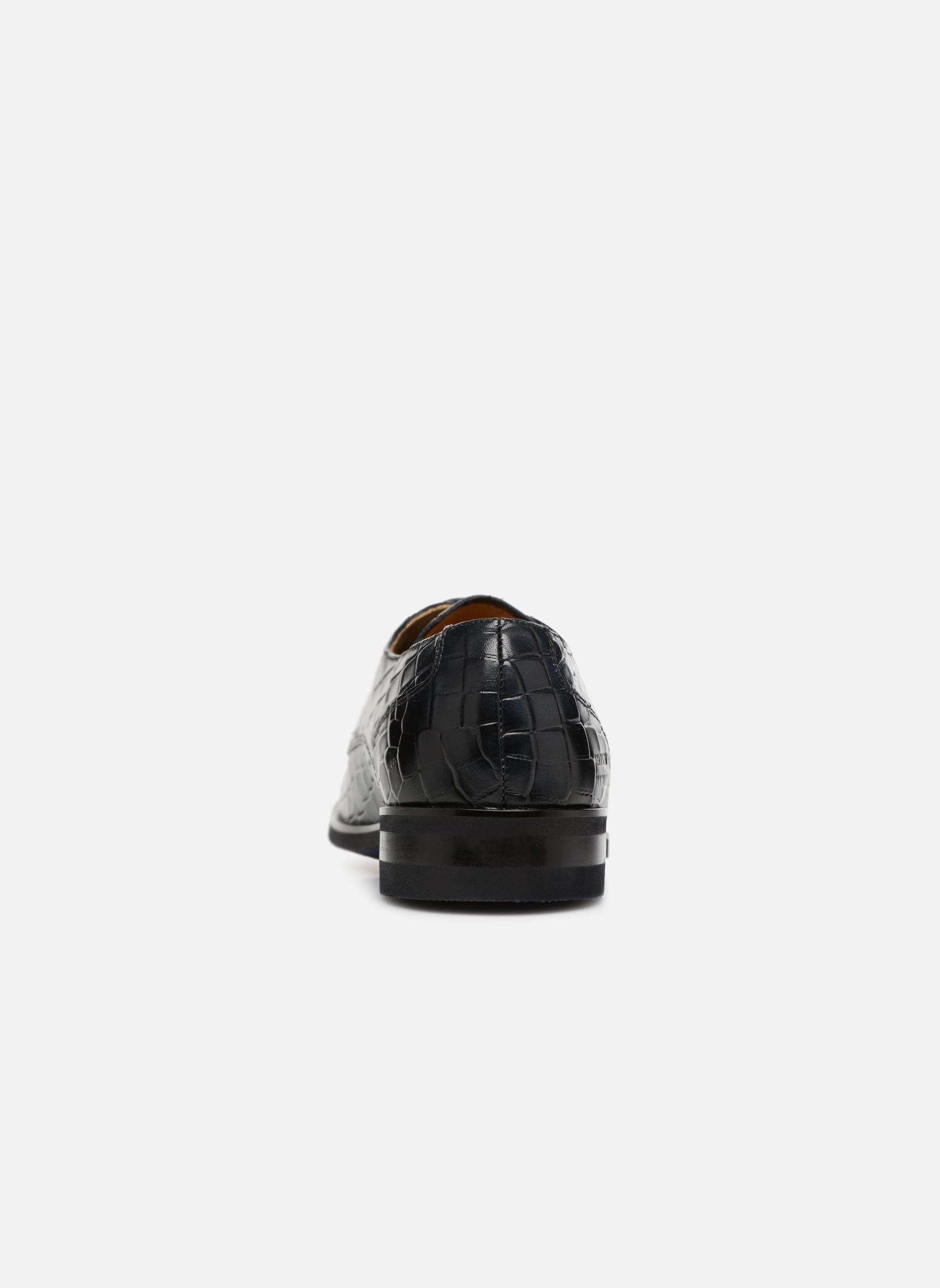 Zapatos con cordones Melvin & Hamilton Toni 1 Azul vista lateral derecha