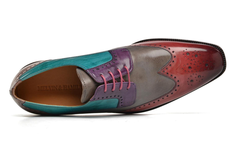 Chaussures à lacets Melvin & Hamilton Jeff 14 Multicolore vue gauche