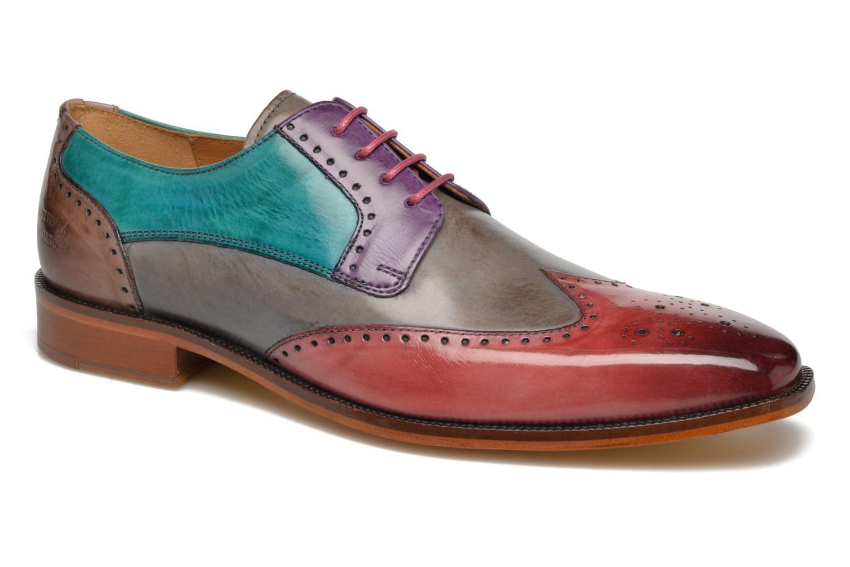Schnürschuhe Melvin & Hamilton Jeff 14 mehrfarbig detaillierte ansicht/modell