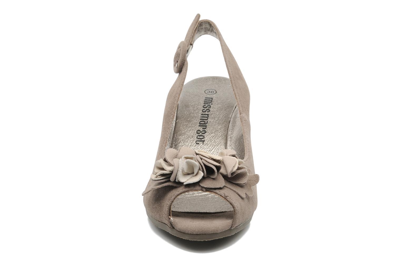Sandalen Rosemetal Rony braun schuhe getragen