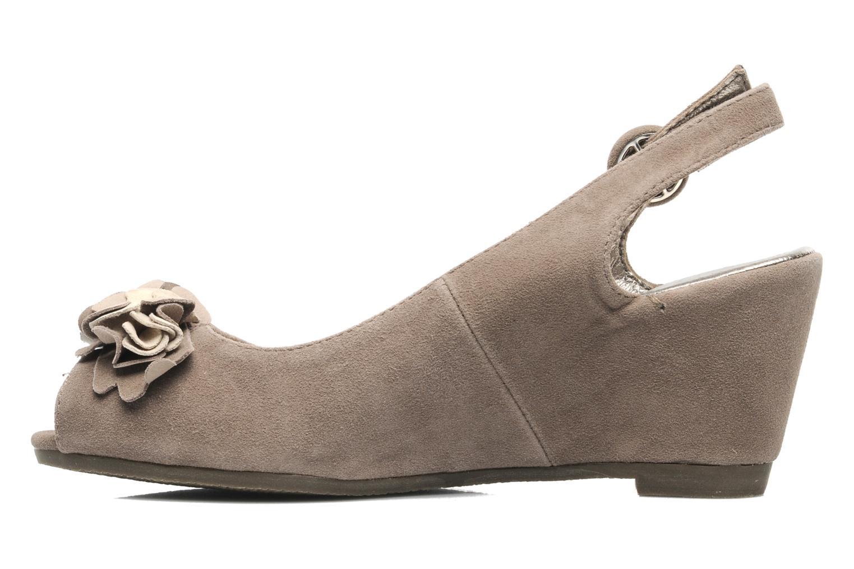 Sandalen Rosemetal Rony braun ansicht von vorne