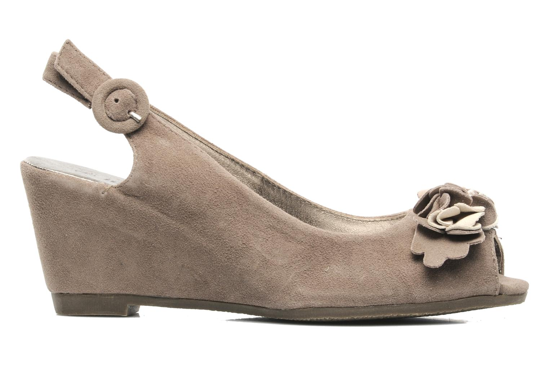 Sandales et nu-pieds Rosemetal Rony Marron vue derrière