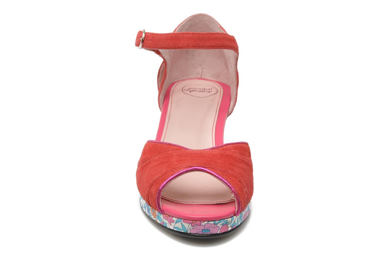 Sandales et nu-pieds Annabel Winship Loukoum Rouge vue portées chaussures