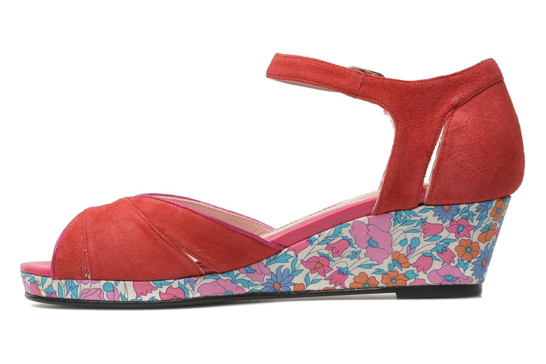 Sandales et nu-pieds Annabel Winship Loukoum Rouge vue face