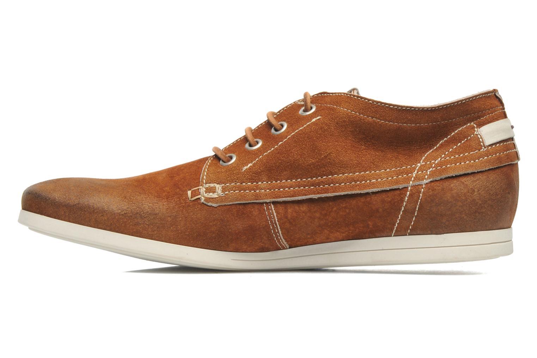 Chaussures à lacets Kost Kerien37 Marron vue face