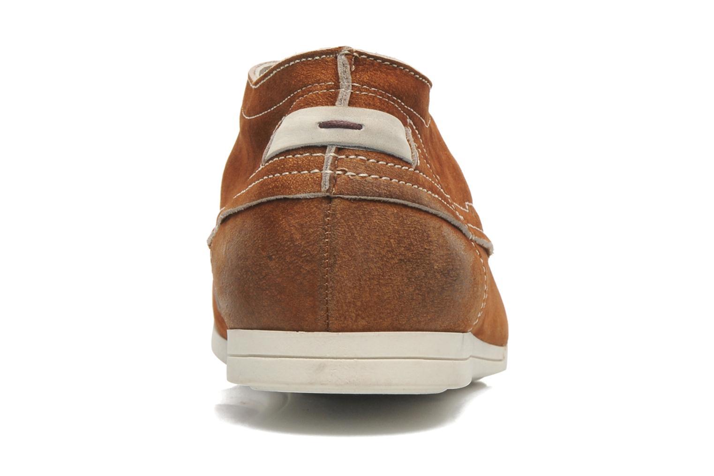 Chaussures à lacets Kost Kerien37 Marron vue droite