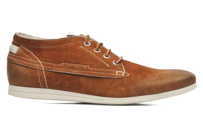 Chaussures à lacets Kost Kerien37 Marron vue derrière