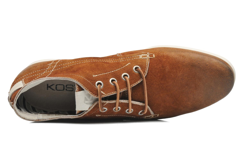 Chaussures à lacets Kost Kerien37 Marron vue gauche