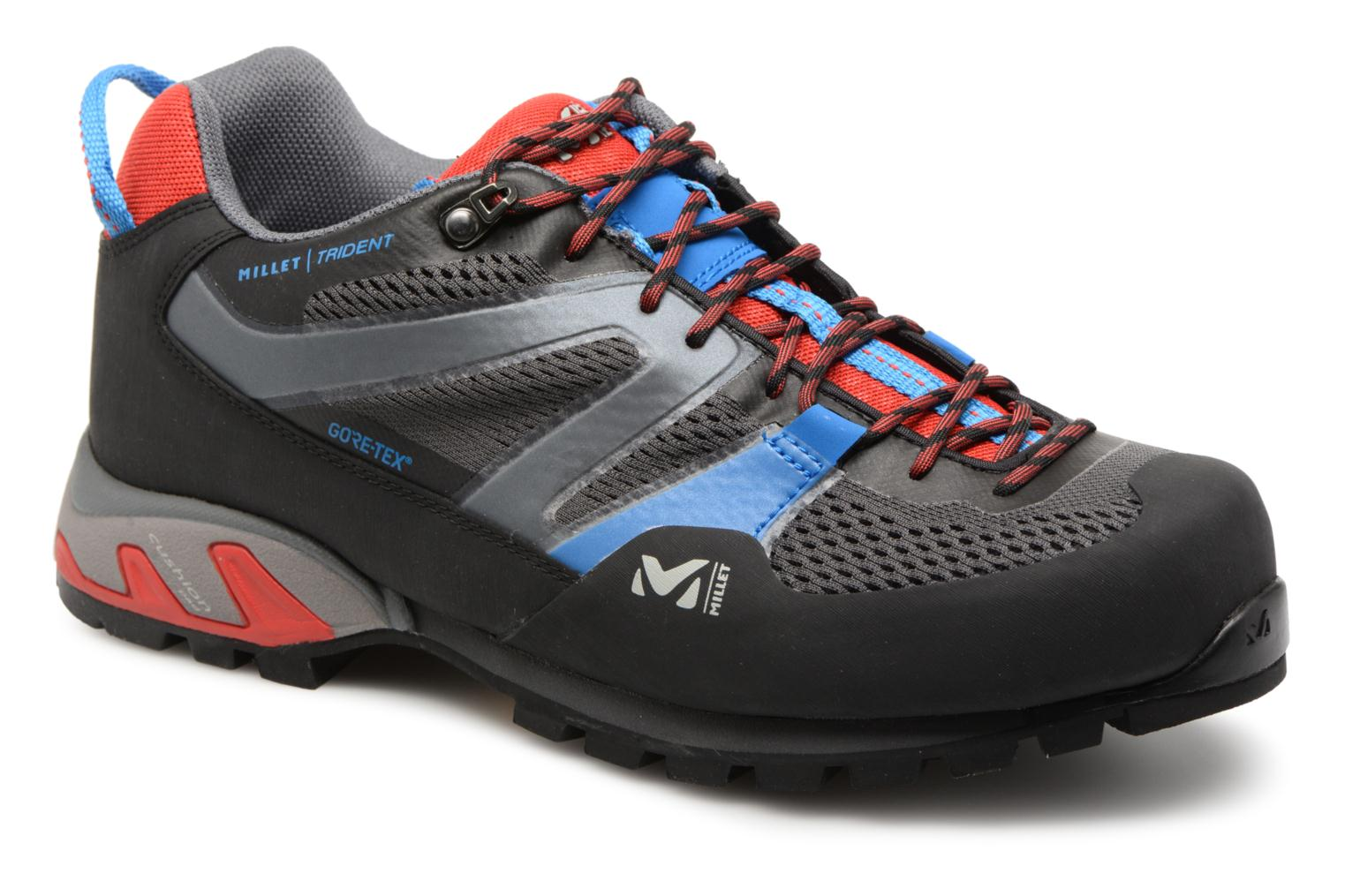 Sport shoes Millet Trident GTX Grey detailed view/ Pair view