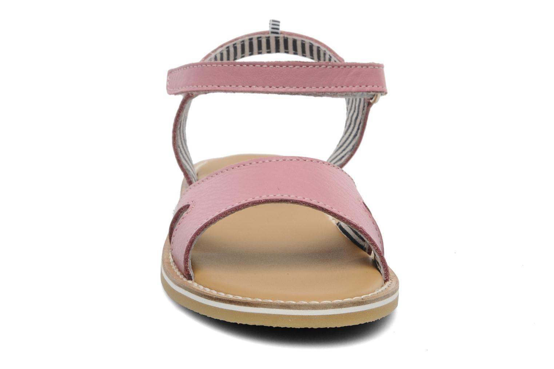 Sandales et nu-pieds Petit bateau NAME Rose vue portées chaussures
