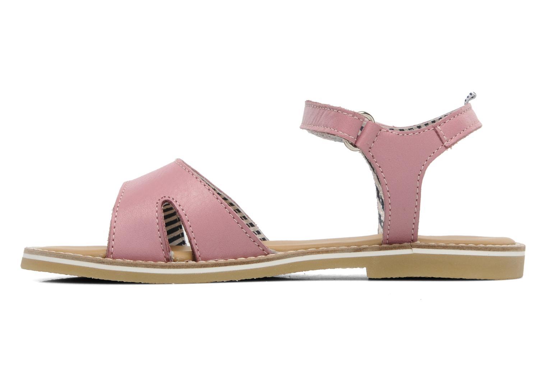Sandales et nu-pieds Petit bateau NAME Rose vue face