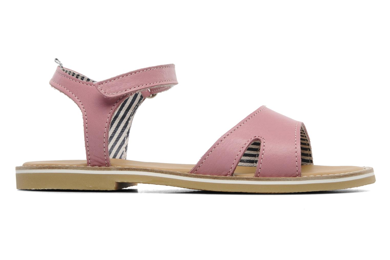 Sandales et nu-pieds Petit bateau NAME Rose vue derrière