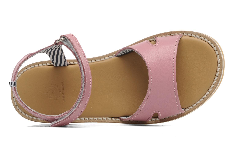 Sandales et nu-pieds Petit bateau NAME Rose vue gauche