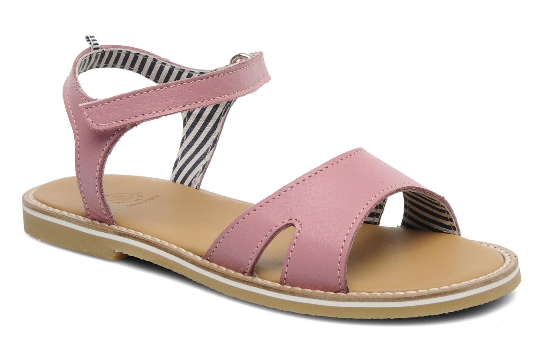Sandales et nu-pieds Petit bateau NAME Rose vue détail/paire
