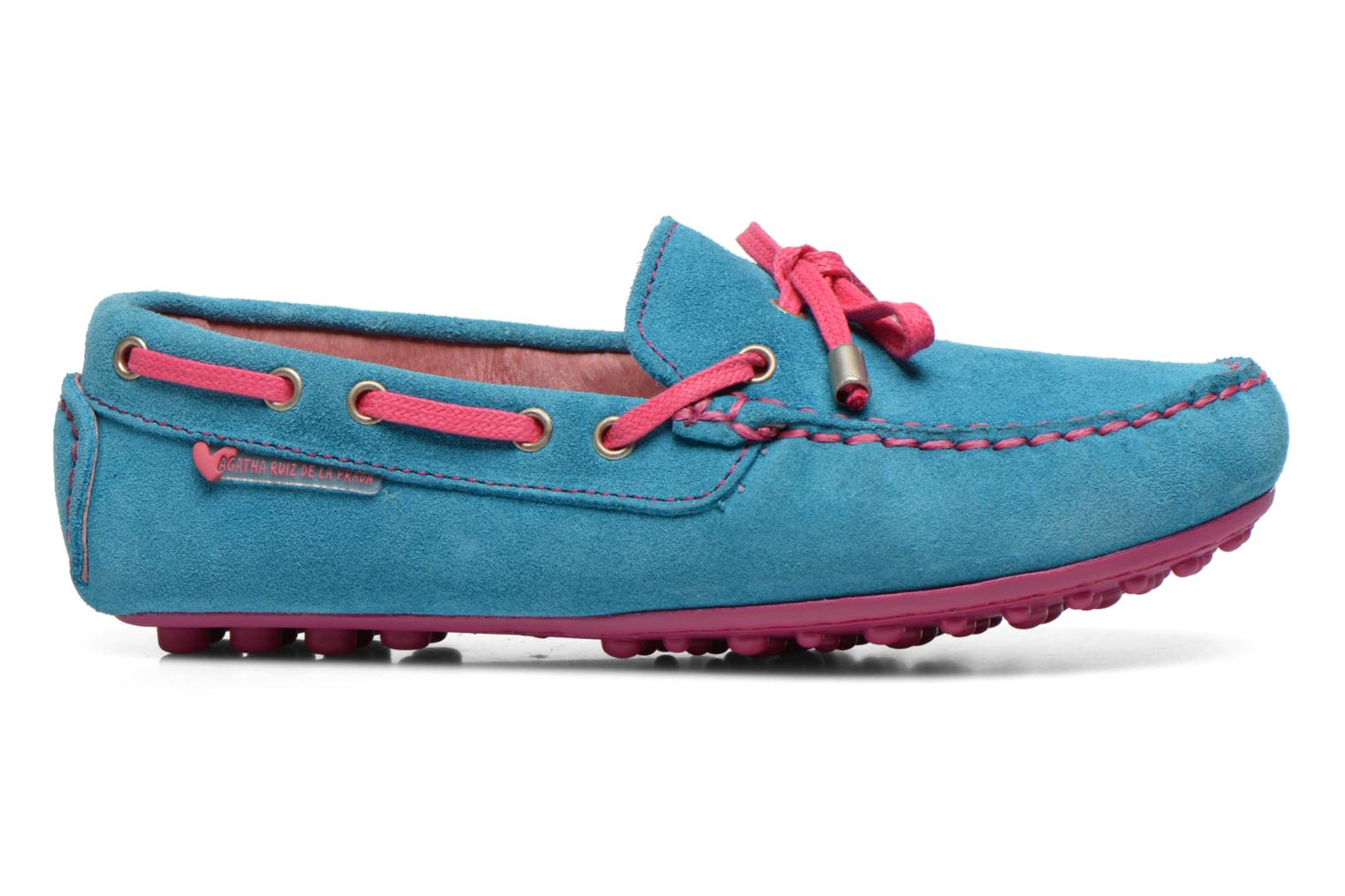 Loafers Agatha Ruiz de la Prada Catherine Blue back view
