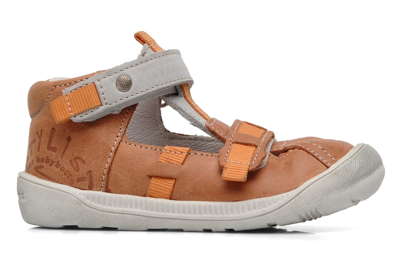 Summer boots Babybotte Stylist Orange back view