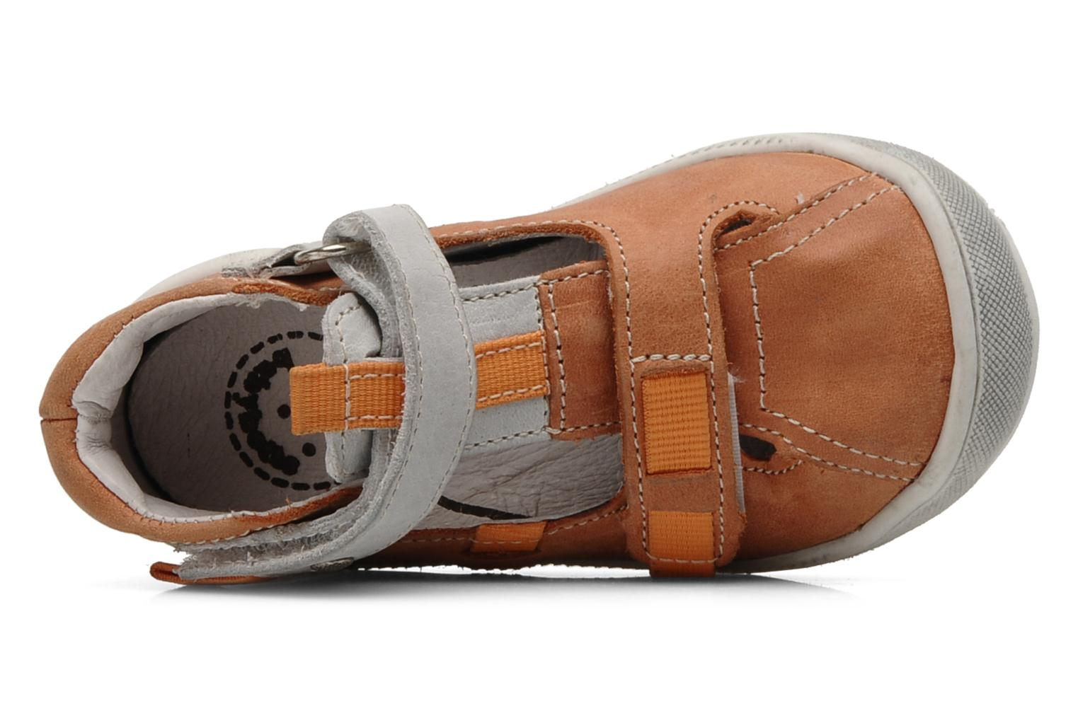 Summer boots Babybotte Stylist Orange view from the left