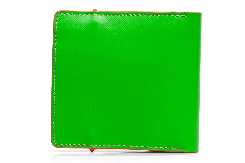 Kleine lederwaren Coverlab Man wallet Groen voorkant