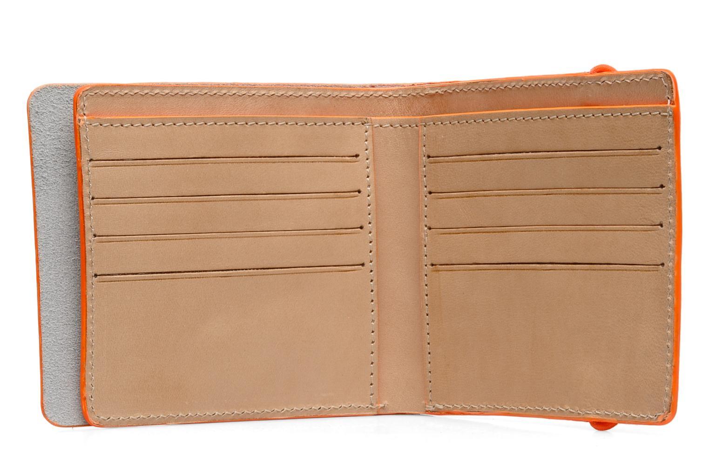 Kleine lederwaren Coverlab Man wallet Groen achterkant