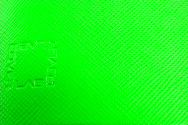 Kleine lederwaren Coverlab Man wallet Groen links
