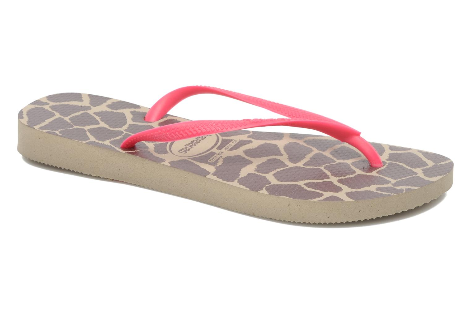 Slim Animals Fluo Femme Sand Grey