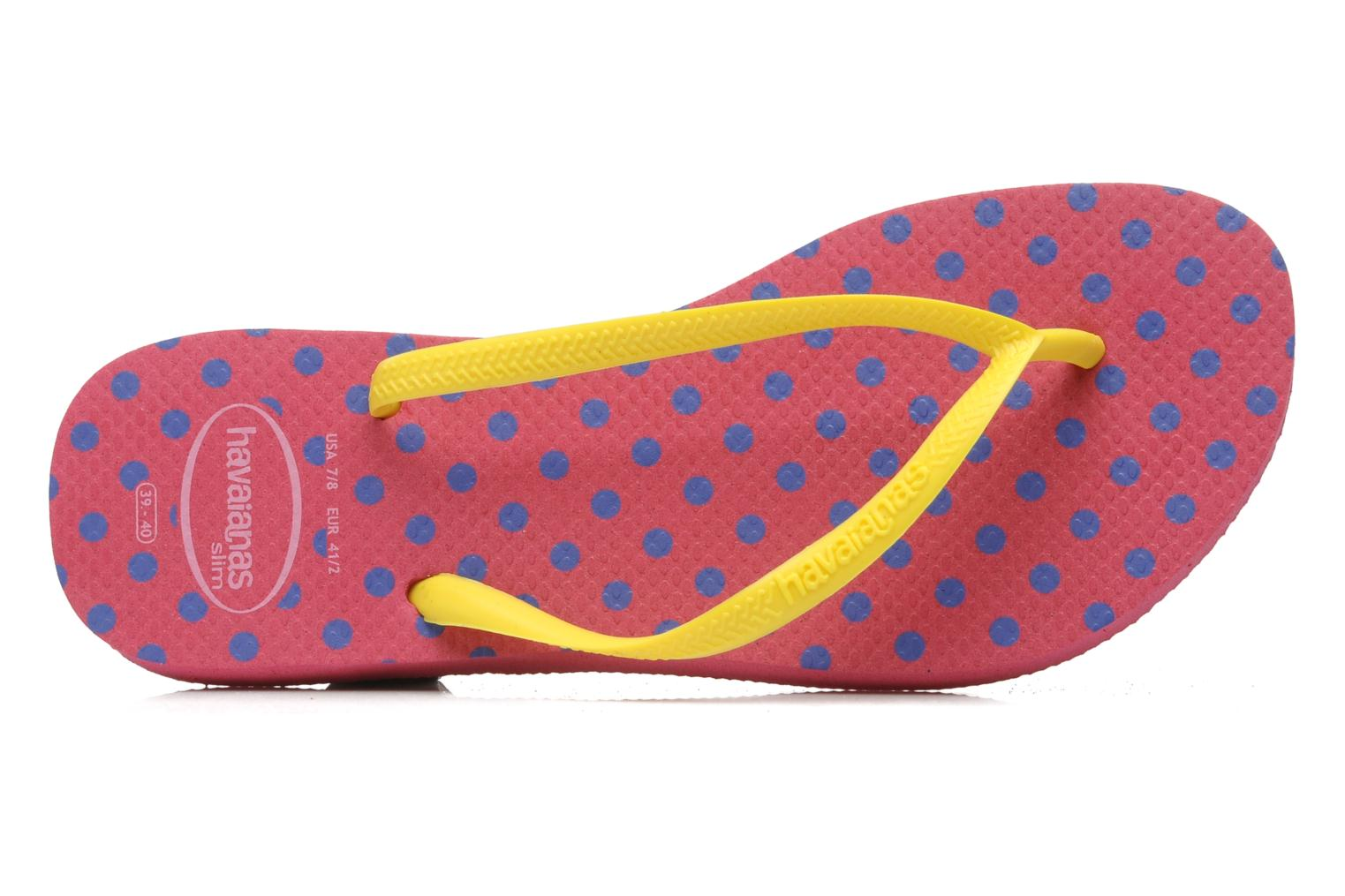 Flip flops Havaianas Slim Fresh Multicolor view from the left