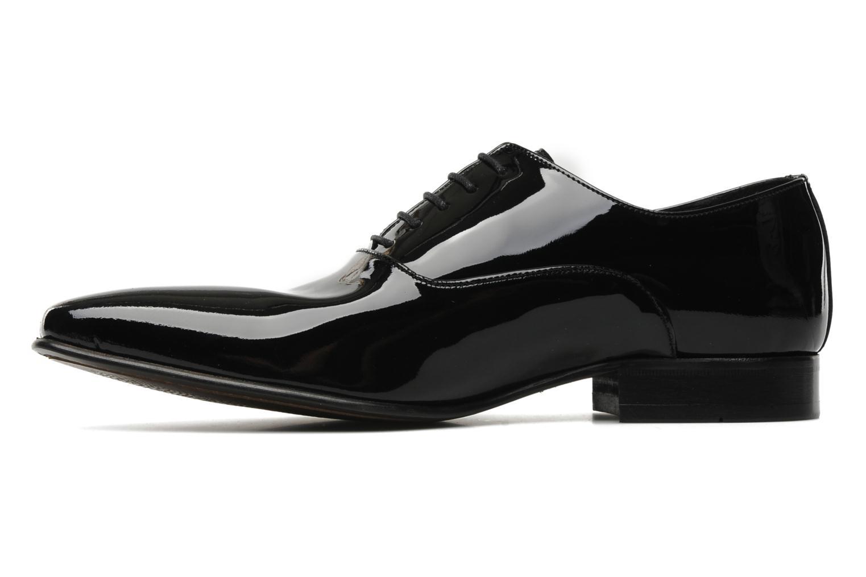 Snörade skor Brett & Sons Dandi Svart bild från framsidan
