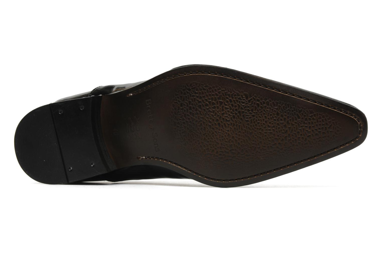 Schnürschuhe Brett & Sons Dandi schwarz ansicht von oben