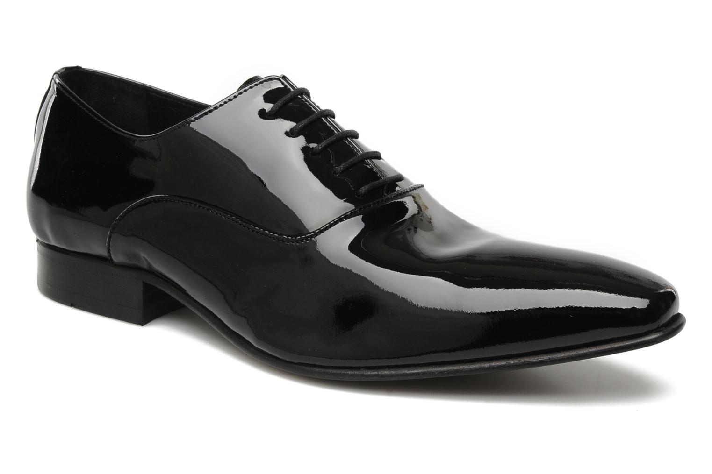 Snörade skor Brett & Sons Dandi Svart detaljerad bild på paret